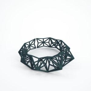 bracelet etoile vert foncé