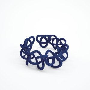 bracelet torsale bleu foncé