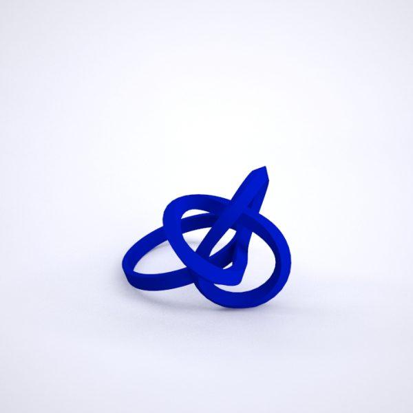 bague torsale bleu klein